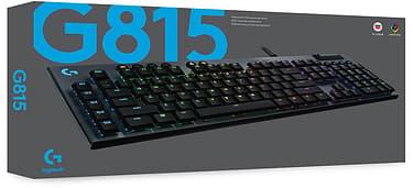 Logitech G815 -pelinäppäimistö, Tactile-kytkimet, kuva 3