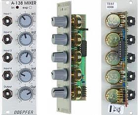Doepfer A-138b Mixer  -Eurorack-moduuli, kuva 2