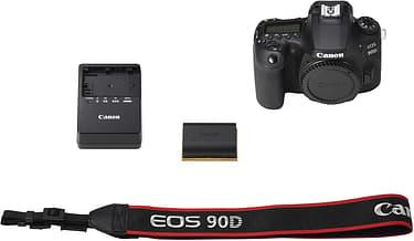 Canon EOS 90D -järjestelmäkamera, runko, kuva 5