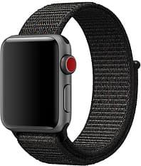 Apple Watch 42 mm musta Sport Loop -ranneke, MQW72Z