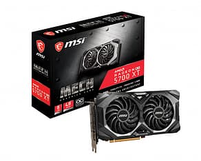 MSI Radeon RX 5700 XT MECH OC 8 GB -näytönohjain PCI-e-väylään