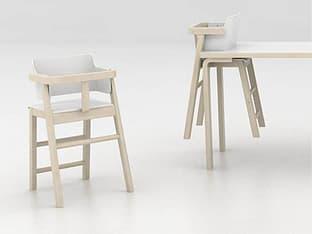 Sulo-tuoli, valkoinen/koivu, kuva 7