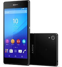 Sony Xperia Z3+ -Android-puhelin, musta