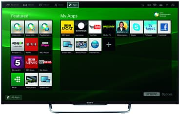 "Sony KDL-50W828 50"" 3D Smart LED televisio, 800 Hz, WiFi, Miracast, MHL, kuva 5"