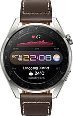 Huawei Watch 3 Pro LTE -älykello 48mm, Ruskea nahkaranneke, kuva 5