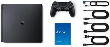 Sony PlayStation 4 Slim 500 Gt -pelikonsoli, musta, kuva 7
