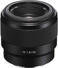 Sony FE 50mm F1.8 -normaaliobjektiivi
