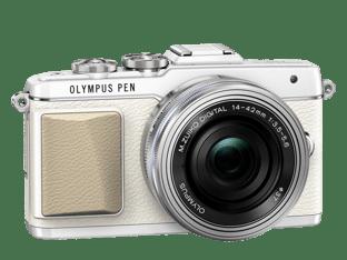 Olympus PEN E-PL7 valkoinen + 14-42 mm EZ objektiivi, kuva 4