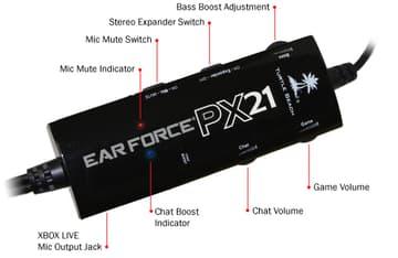 Turtle Beach Ear Force PX21 PS3 / Xbox 360 -kuulokemikrofoni, kuva 7