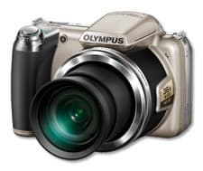 Olympus SP-810UZ digikamera, hopea