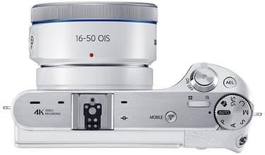 Samsung NX500 + 16-50mm PZ OIS, valkoinen, kuva 4