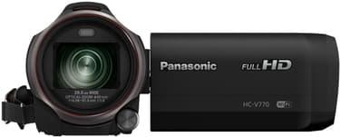 Panasonic HC-V770 -digivideokamera, musta, kuva 2