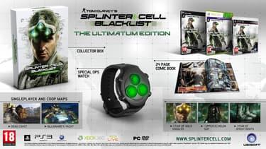 Splinter Cell - Blacklist - The Ultimatum Edition Xbox 360-peli