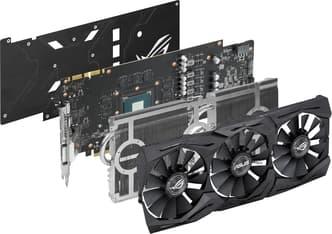 Asus GeForce GTX 1070 STRIX-GTX1070-O8G-GAMING 8192 Mt -näytönohjain PCI-e-väylään, kuva 2