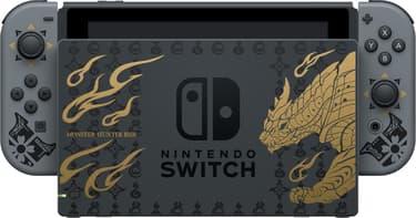 Nintendo Switch Monster Hunter Rise Edition -pelikonsoli, erikoisväritys, kuva 6