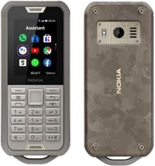 Nokia 800 Tough -iskunkestäväpuhelin, maastokuvio