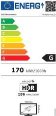 """LG 75UN7070 75"""" 4K Ultra HD LED -televisio, kuva 10"""