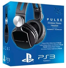 Sony PlayStation 3 Pulse Wireless Stereo Headset PS3-kuulokemikrofoni, kuva 4