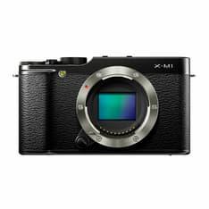 Fujifilm X-M1 musta mikrojärjestelmäkamera, runko