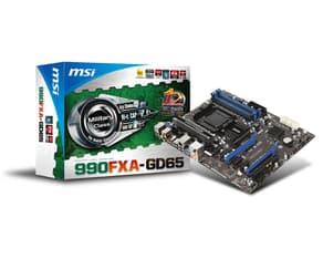 MSI 990FXA-GD65 AMD AM3+ ATX DDR3 -emolevy