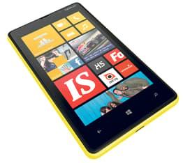 Nokia Lumia 820 Windows Phone -puhelin, keltainen
