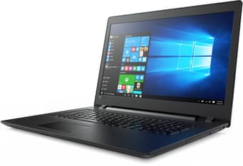 """Lenovo Ideapad 110 17,3"""" -kannettava, Win 10 64-bit, musta, kuva 3"""