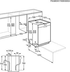 Electrolux ESF5533LOX -astianpesukone, teräs, kuva 4
