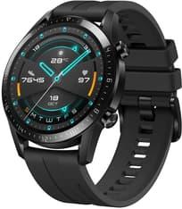 Huawei Watch GT2 -älykello , Musta 46 mm silikoniranneke