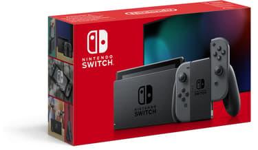 Nintendo Switch -pelikonsoli, harmaa