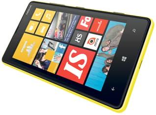 Nokia Lumia 820 Windows Phone -puhelin, keltainen, kuva 2