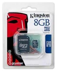 Kingston 8 GB microSDHC Class 4 -muistikortti