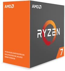 AMD Ryzen 7 1700X -prosessori AM4 -kantaan