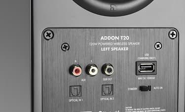 Audio Pro Addon T20 Bluetooth aktiivikaiutinpari, musta, kuva 3