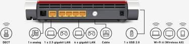 AVM FRITZ!Box 6660 Cable langaton Dual Band WiFi 6 -kaapelimodeemi, kuva 6