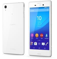 Sony Xperia M4 Aqua -Android-puhelin, 8 Gt, valkoinen