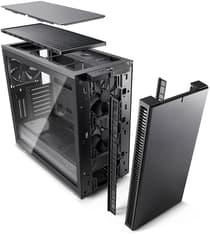 Fractal Design Define S2 - ATX-kotelo ilman virtalähdettä, gunmetal, kuva 10