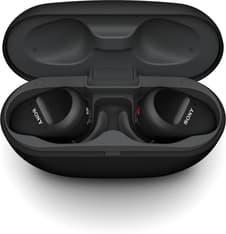 Sony WF-SP800N -Bluetooth-vastamelukuulokkeet, musta, kuva 4