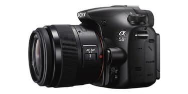 Sony A58 digijärjestelmäkamera + 18-55 ja 55-200 objektiivit, kuva 2