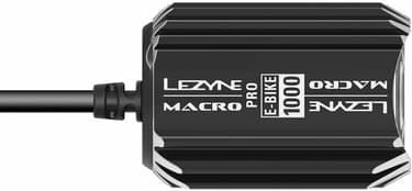 LEZYNE ebike Macro Drive 1000 -pyörävalaisin, musta, kuva 4