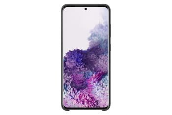 Samsung Galaxy S20 Silicone Cover -suojakuori, musta, kuva 2