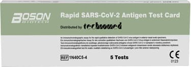 Boson SARS-CoV-2 -antigeenipikatesti, 5 kpl