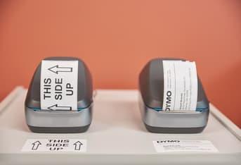 Dymo Labelwriter Wireless -tarratulostin, musta, kuva 4