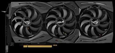 Asus ROG-STRIX-RTX2080TI-O11G-GAMING GeForce RTX 2080 Ti 11264 Mt -näytönohjain PCI-e-väylään, kuva 2