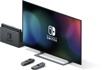 Nintendo Switch -pelikonsoli, harmaa, kuva 4