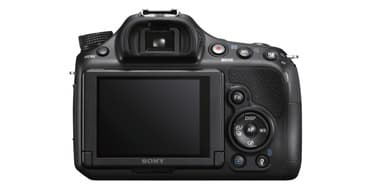 Sony A58 digijärjestelmäkamera + 18-55 ja 55-200 objektiivit, kuva 3