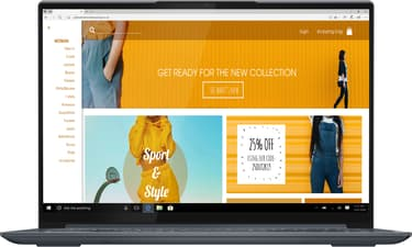 "Lenovo Yoga Slim 7 Pro 14"" -kannettava, Win 10 Home (82MS000GMX), kuva 2"