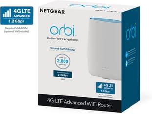 Netgear Orbi LTE 3G/4G/LTE-modeemi ja Tri-Band WiFi Mesh -reititin, kuva 3