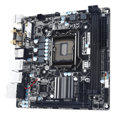 Gigabyte GA-H97N-WIFI Intel H97 LGA 1150 MiniITX-emolevy, kuva 2