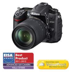 Nikon D7000 järjestelmäkamera + AF-S 18-105 VR objektiivi