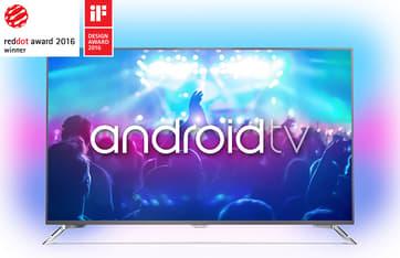 "Philips 65PUS7101 65"" Smart Android 4K Ultra HD LED -televisio + 6 kk Viaplay"